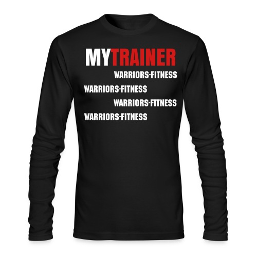 My Trainer Long sleeve - Men's Long Sleeve T-Shirt by Next Level