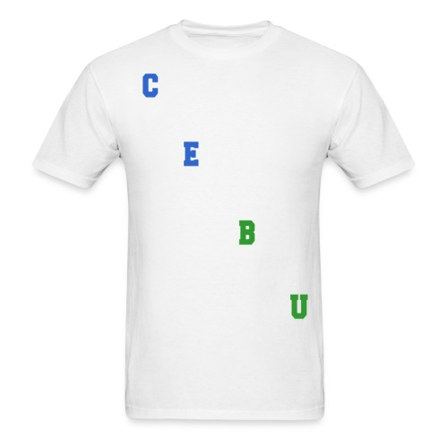 Cebu Diagonal Logo - Men's T-Shirt