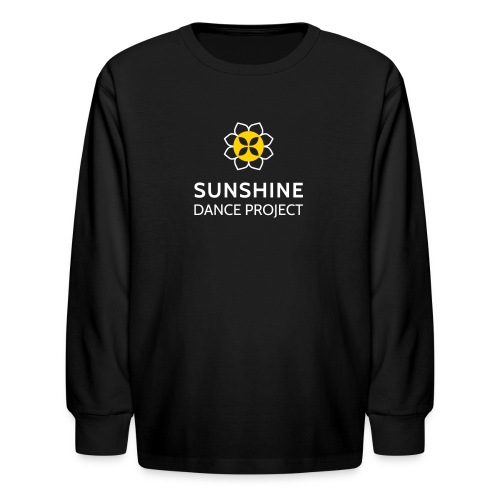 Kids SDPS Long Sleeve T Shirt in Black - Kids' Long Sleeve T-Shirt