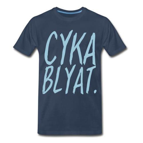 cyka blyat T-Shirts - Men's Premium T-Shirt