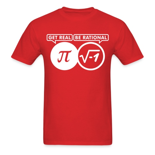 Men's Be Rational - Men's T-Shirt