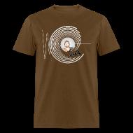 T-Shirts ~ Men's T-Shirt ~ Hollens Brwn
