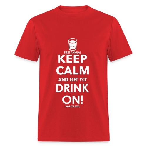 drink on - Men's T-Shirt