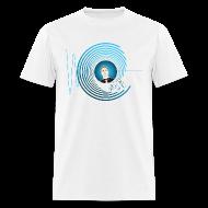 T-Shirts ~ Men's T-Shirt ~ Hollens Blue