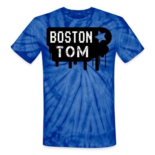 Totally Tubular Tie-dye Tee  - Unisex Tie Dye T-Shirt
