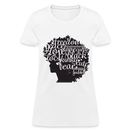 Afro Defined - Women's T-Shirt