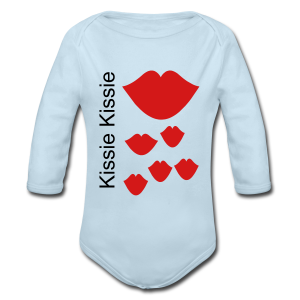 Kissie Kissie - Long Sleeve Baby Bodysuit