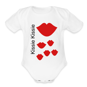 Kissie Kissie - Short Sleeve Baby Bodysuit