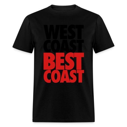 West Coast Best Coast - Men's T-Shirt