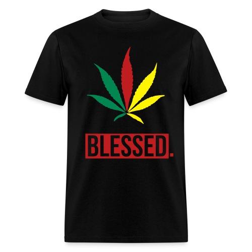 Marijuana Blessed. - Men's T-Shirt