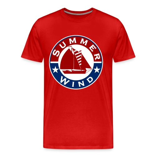 Summer Wind 2018 Crew T Red - Men's Premium T-Shirt