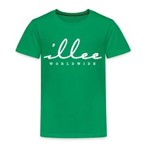 Toddler's ILLEE WORLDWIDE Signature T-Shirt - Toddler Premium T-Shirt