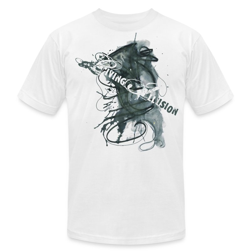 Living Illusion T-Shirt - Men's T-Shirt by American Apparel