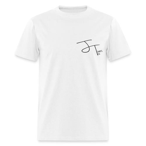 Mens J.T. Skate Co Logo T-Shirt (White) - Men's T-Shirt