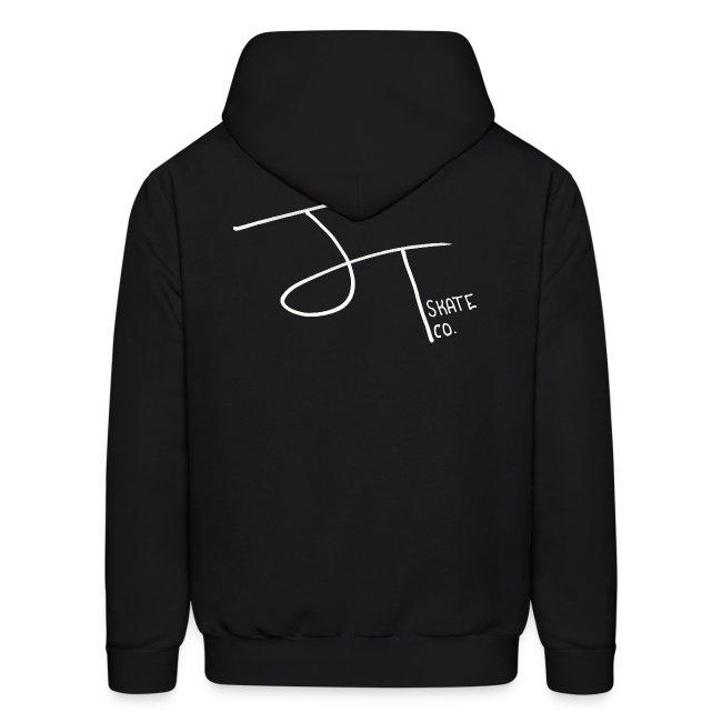 """Mens """"J.T. Skate Co Logo"""" Hoodie"""