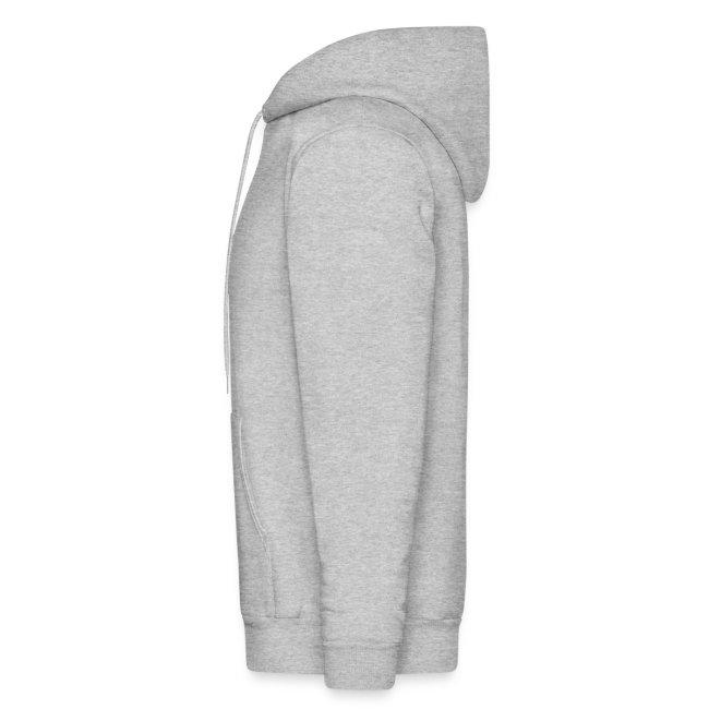 """Mens """"Suicide Cigarette Box Logo"""" Hoodie (Grey)"""