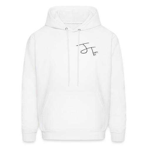 Mens J.T. Skate Co Logo Hoodie (White) - Men's Hoodie