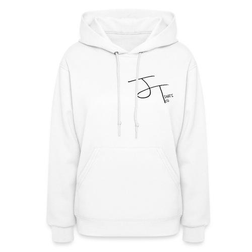 Womens J.T. Skate Co Logo Hoodie (White) - Women's Hoodie