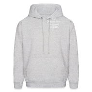 Hoodies ~ Men's Hoodie ~ Intelligent Pothead Hooded Sweatshirt
