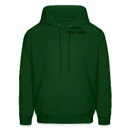 Hoodies ~ Men's Hoodie ~ NORML Field Crew Hooded Sweatshirt