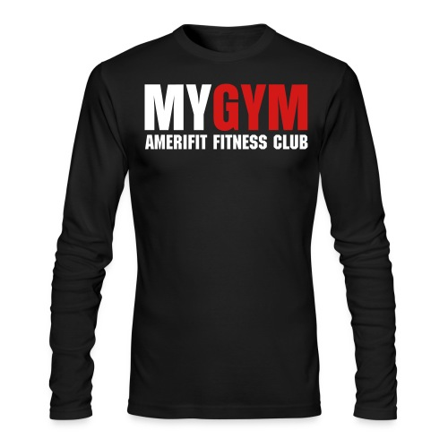 MY GYM - Men's Long Sleeve T-Shirt by Next Level