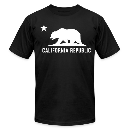 California Republic - Men's Fine Jersey T-Shirt