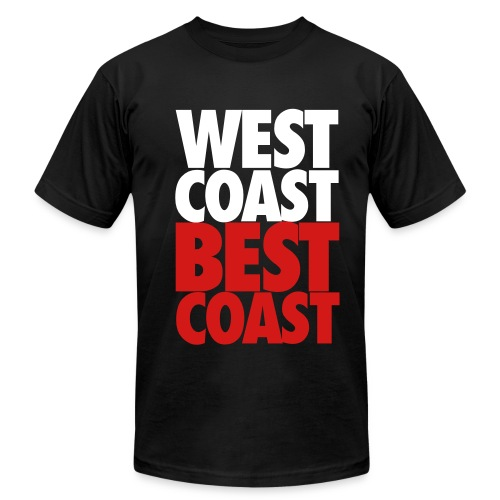 BEST COAST - Men's Fine Jersey T-Shirt