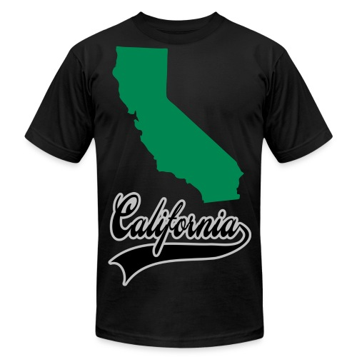 California - Men's Fine Jersey T-Shirt