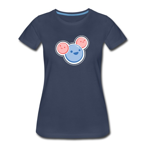 Water Molecule - Women's Premium T-Shirt