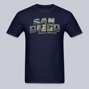San Diego Post Card - Men's T-Shirt
