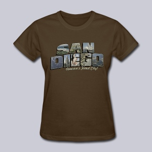 San Diego Post Card - Women's T-Shirt