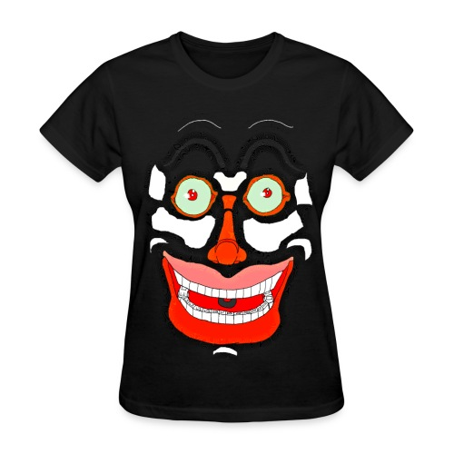 Scary Face - Women's T-Shirt
