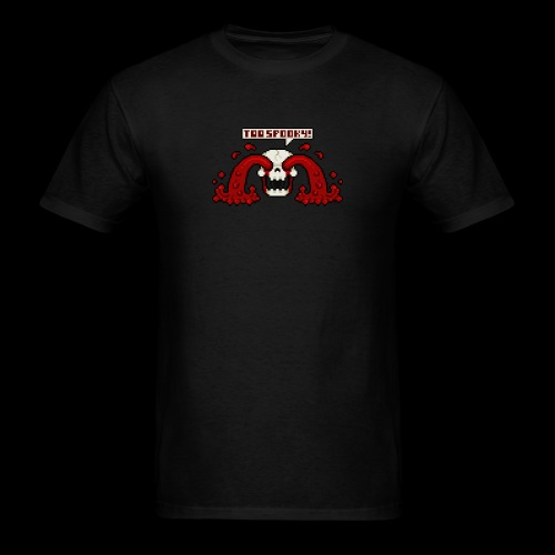 Pops, the Hyper-Realistic Blood-Spewing Skeleton! - Men's T-Shirt