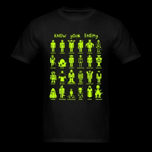 Know Your Enemy (Slime Color) - Men's T-Shirt
