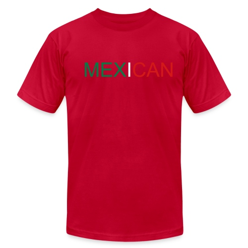 MEX I CAN - Men's Fine Jersey T-Shirt