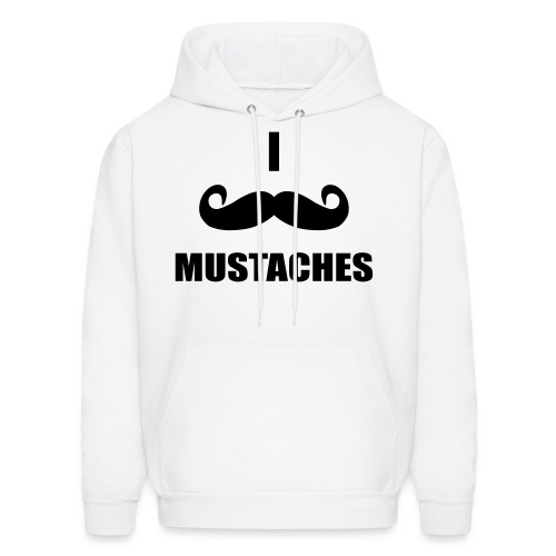 Mustaches! - Men's Hoodie