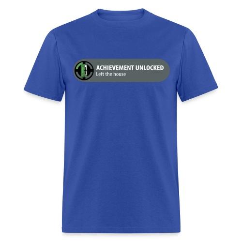 Left The House Achievement Unlocked! (Male)  - Men's T-Shirt