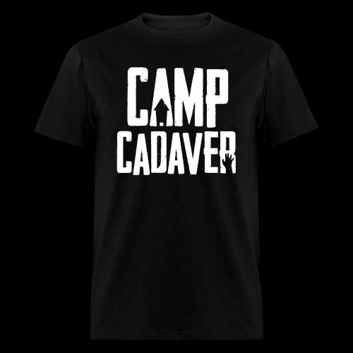 Camp Cadaver White Logo (Male) - Men's T-Shirt