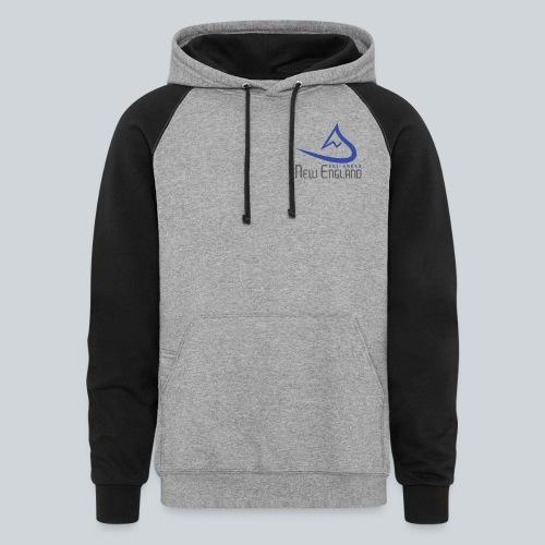 Color Blend Ski New England Sweatshirt - Colorblock Hoodie