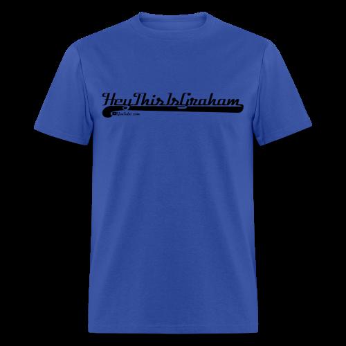 HeyThisIsGraham Varsity Style - Men's T-Shirt