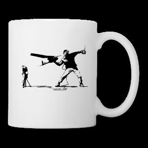 Yank and Banksy Mug - Coffee/Tea Mug