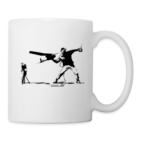 Yank and Banksy Mug - Coffee/Tea Mug