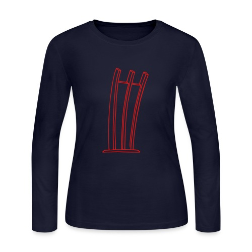 Airlift Monument in Berlin-Tempelhof - Women's Long Sleeve Jersey T-Shirt