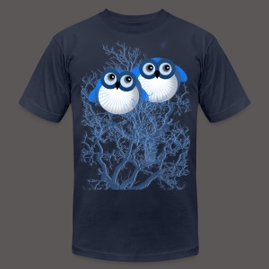 BLUE OWLS - Men's T-Shirt by American Apparel