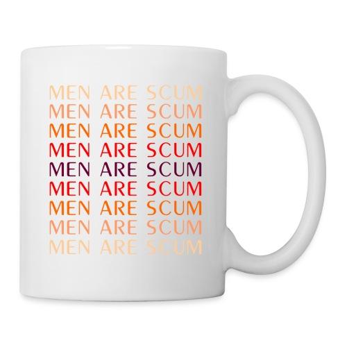 Men Are Scum Mug - Coffee/Tea Mug