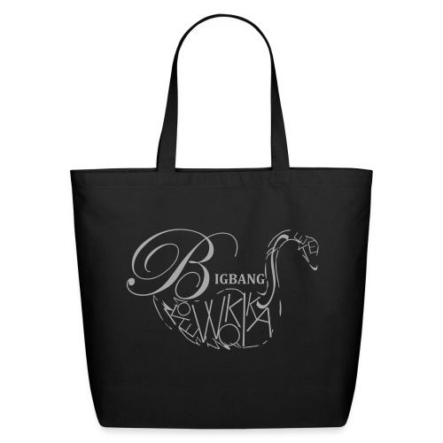 Koe Swan-Silver Glitz - Eco-Friendly Cotton Tote