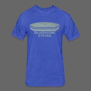 Silverdome Strong - Fitted Cotton/Poly T-Shirt by Next Level