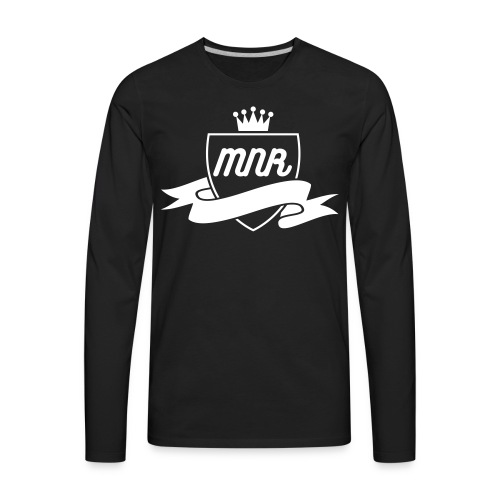 MNR (KING AND SHIELD) MENS - Men's Premium Long Sleeve T-Shirt