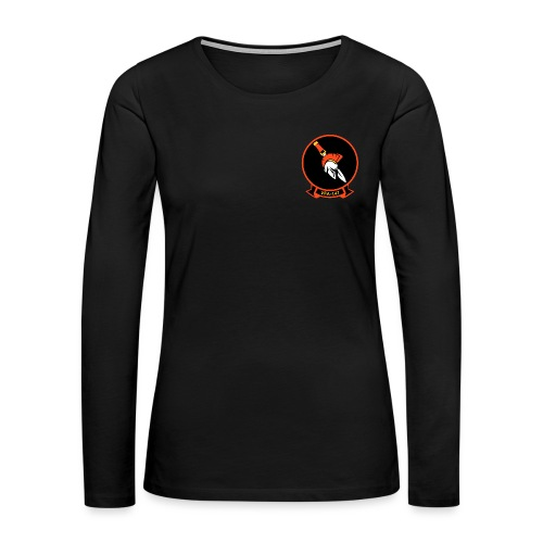 VFA-147 ARGONAUTS WOMENS LONG SLEEVE - Women's Premium Long Sleeve T-Shirt