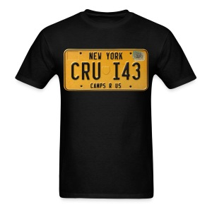 License Plate Tee - Men's T-Shirt
